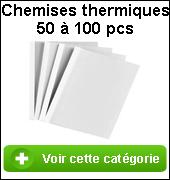 Couvertures thermiques pour la reliure thermique