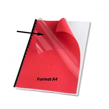 Couvertures A4 PVC 150 microns