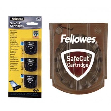 Kit 3 Lames de rechange Fellowes